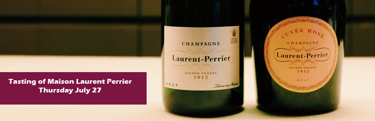 Tasting Maison Laurent Perrier